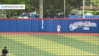 KU falls to Baylor 6-3 // Kansas Baseball // 5.2.15