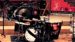 Manolo CASCALES (España) Drummer & Clinician PercuFest 2013