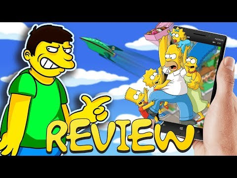 Simpsons Mobile Games Review – Square Eyed Jak