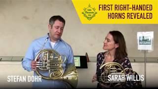 Berlin Phil Horns reveal new secret right-handed horns!