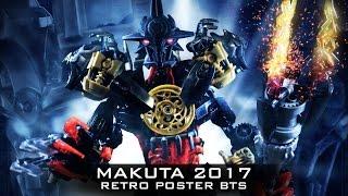 BIONICLE 2017 MAKUTA Retro Poster BTS