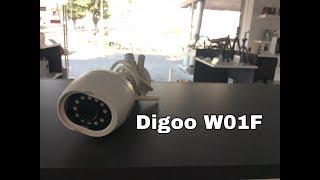 Digoo Cloud Storage WIFI Security IP Camera Unboxing, Memory Card