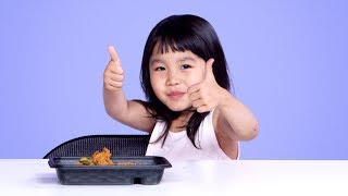 Kids Try KFC Pickle Fried Chicken | Kids Try | HiHo Kids