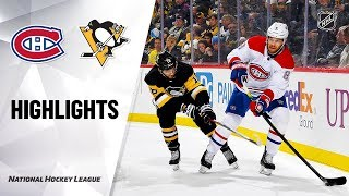 NHL Highlights | Canadiens @ Penguins 12/10/19