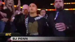 UFC 63 BJ Penn Entrance