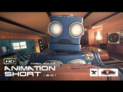 """CGI 3D Animated Short Film """"ROBOTHERAPY"""" Funny Romantic Animation by Artfx"""