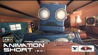 CGI 3D Animated Short Film ROBOTHERAPY Funny Romantic Animation By Artfx