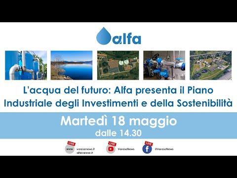 L'acqua del futuro: Alfa presenta il piano industriale e di sostenibilità