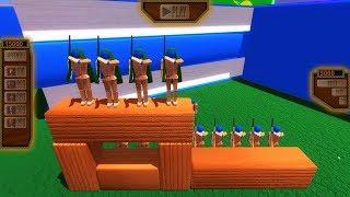 СУПЕР АРМИЯ ВРАГА - Игра Wooden Battles (4 серия ) Лучшие игры 2018 для мальчиков