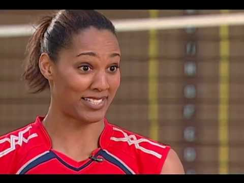 Team USA Women's Volleyball - Tayyiba Haneef Park - Interview part 1