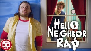 "HELLO NEIGHBOR RAP by JT Music - ""Hello and Goodbye"" (LIVE ACTION)"
