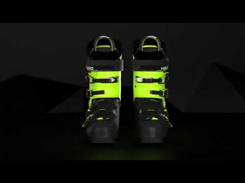 Смотреть видео Горнолыжные ботинки Head Vector RS 120S 18/19