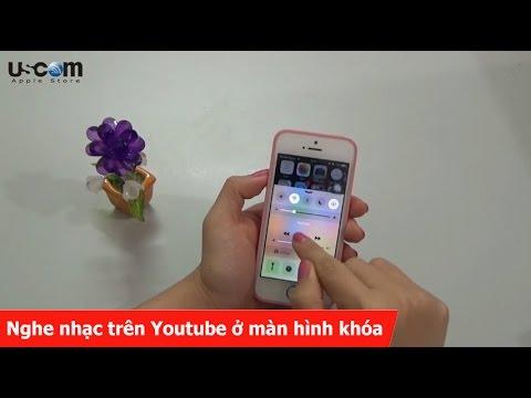 Cách để nghe nhạc trên Youtube ở màn hình khóa trên iPhone, iPad