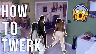 TEACHING OUR 12Yr SISTER HOW TO TWERK (PRANK ON DAD) FT KLAIYI HAIR /GIVEAWAY