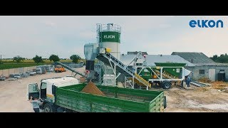 ELKON Mix Master-30 On-Site Concrete Batching Plant in Operation
