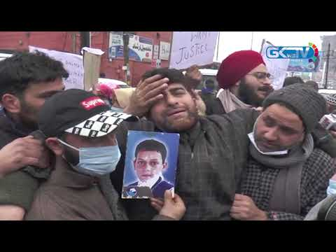 Lawaypora encounter: Families hold protest at Press Colony, demand bodies of kin