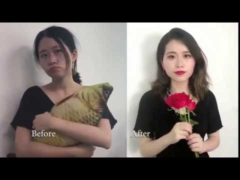 Makeup with food    /  So easy and convenient by Ms Yeah Official Channel