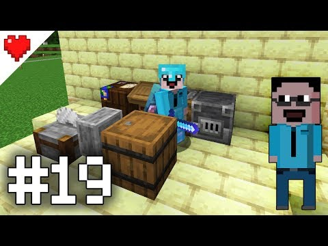 S10E19: 1.14 nové craftingy! Guaridian farma finish! [Minecraft SPLP 1.14]