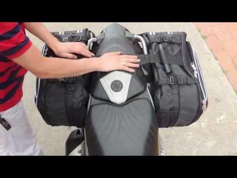 Masterbag | Instalación Alforjas | Yamaha FZ 16