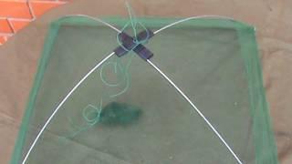 Сетка для подъемника рыболовного малявочник 1х1 метр ячейка 10мм