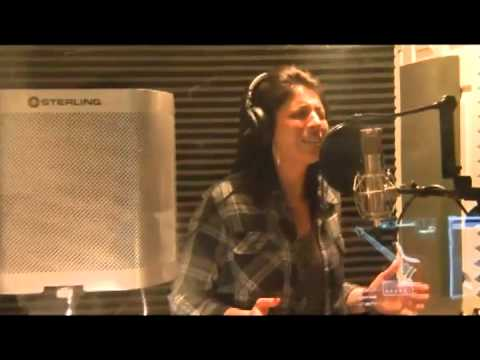 Ashley Studio Recording vocals for Try Again