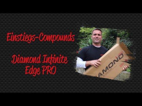 Compoundbogen für Einsteiger - Diamond Infinite Edge Pro im Package