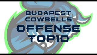 Budapest Cowbells Offense Top10 2016