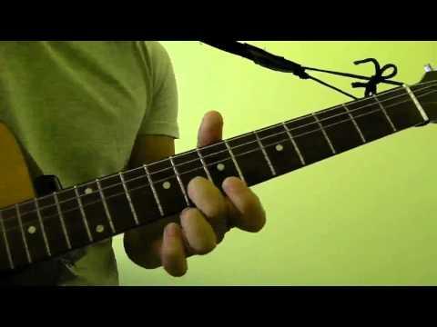 How to Play  Em7 Guitar Bar Chord