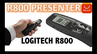 Logitech R800 Laser Pointers Pen Presenter 2.4 GHz Wireless Presenter Unboxing Aliexpress