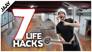 7 STUNT SCOOTER LIFEHACKS