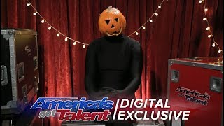 The Dancing Pumpkin Man Chats About His Spontaneous Dance Moves - America