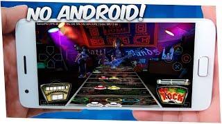 CONFIRA! GUITAR HERO 2 ANDROID TESTE DAEMON PS2 EMULADOR