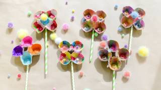 DIY Egg Carton Flower