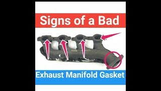 4 Signs of a Bad Exhaust Manifold Gasket Leaks Symptoms Make Noise