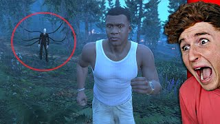 I Found SLENDERMAN In The WOODS.. (GTA 5 Mods)