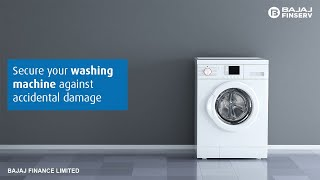 Washing Machine Insurance by Bajaj Finserv