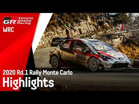 WRCラリーモンテカルロ2020 ヤリスWRC ハイライト動画