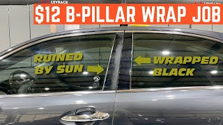 EASY $12 Fix For FADED B-Pillars You Can Do At HOME