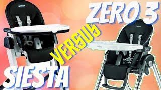 Peg Perego Siesta vs Prima Pappa Zero 3