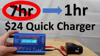 How To Use Promark GPS 24 Quick Charger IMAX B6 1 Hour Charge