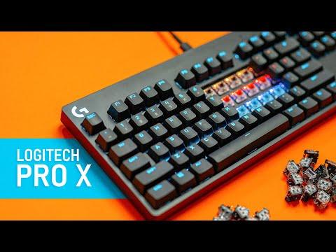 External Review Video fJV406d6SbQ for Logitech G PRO X Tenkeyless Mechanical Gaming Keyboard