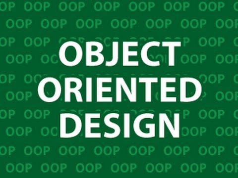 Object Oriented Design - YouTube