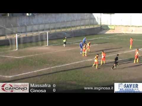 immagine di anteprima del video: MASSAFRA-GINOSA 0-0 Il Ginosa tiene testa al Massafra conquistando un punto meritato