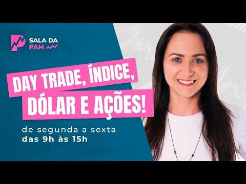 SALA DA PAM- Day Trade ao vivo- Índice, Dólar- 09/12/2019