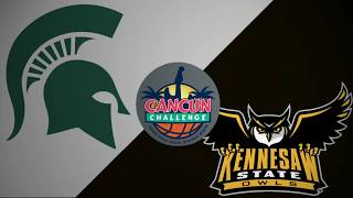 2018 Cancun Challenge | Michigan St vs Kennesaw St