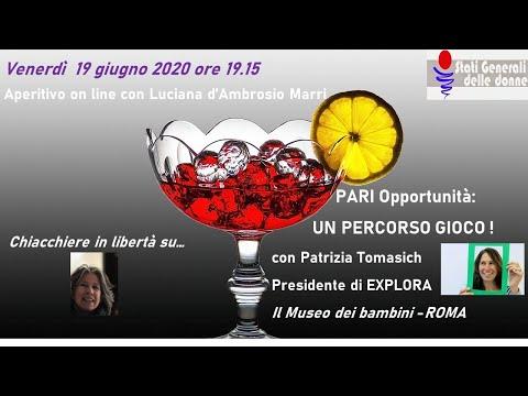 16/06/2020 Aperitivo con... Patrizia Tomasich #StatiGeneraliDelleDonne