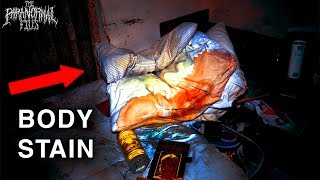 I Found A Body Stain In An Abandoned House | THE PARANORMAL FILES
