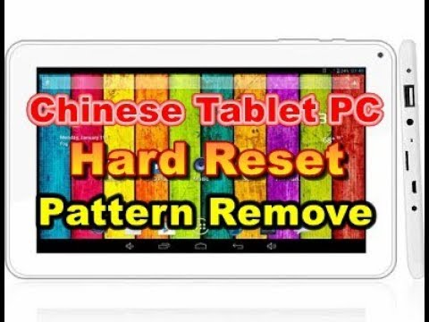 All Winner tablet resetting A10/A20/A23/A33 chipset