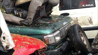 JUNKYARD Kampakan Mobil Gunung Sindur