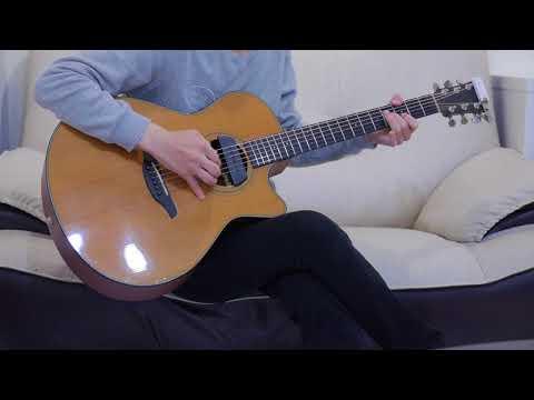 蕭敬騰 - 讓我為你唱情歌 (acoustic guitar solo)